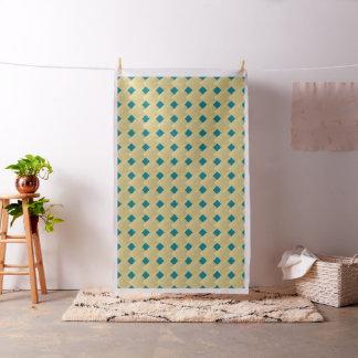 Tuscan Sun Dark Turquoise Tile Pattern Fabric