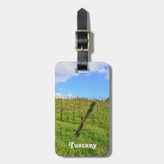 Tuscan Vineyard Luggage Tag