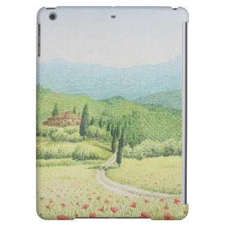 Tuscan Vineyards, Italy in Pastel iPad Air Case