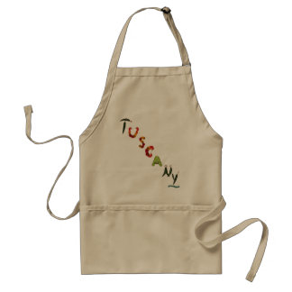 Tuscany Chili Peppers Standard Apron