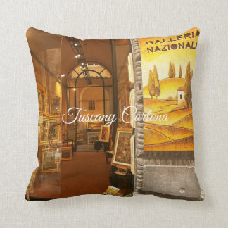 Tuscany Cortona.Art Gallery. Cushion