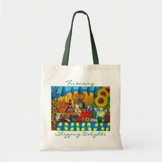 Tuscany Delights Shopping Bag by Lisa Lorenz