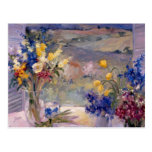 Tuscany Floral Postcard
