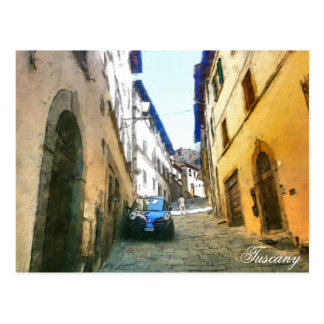 Tuscany.Italy. Cortona. Postcard