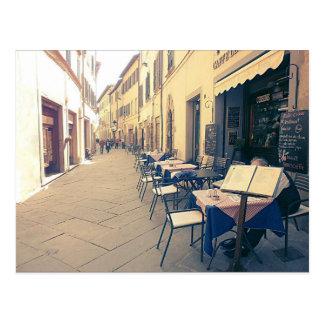 Tuscany. Italy. Cortona. Postcard