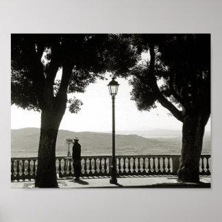 Tuscany. Italy. Cortona Poster