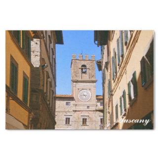 Tuscany. Italy. Cortona. Tissue Paper