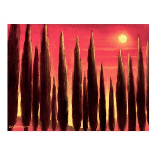 Tuscany Landscape Painting - Multi