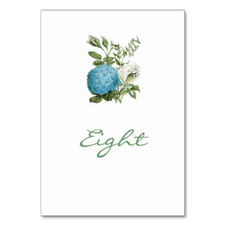 Tuscany Meditteranean Style Table Names / Numbers Card