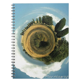 Tuscany Roll Your World Notebooks