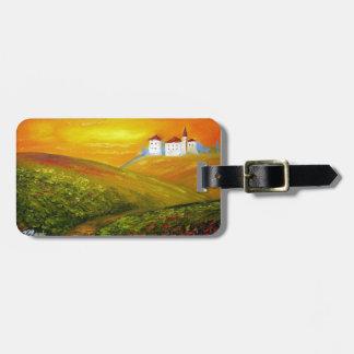 Tuscany Sunshine Luggage Tag