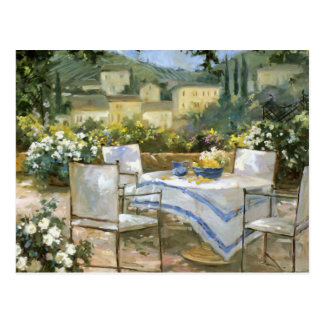 Tuscany Terrace Postcard