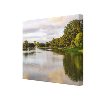 Tuscawilla Pond Canvas Print