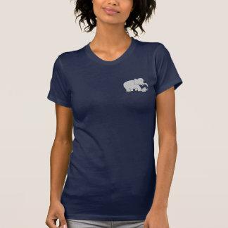 Tusk Love World's Best Mum! Ladies Petite T-Shirt