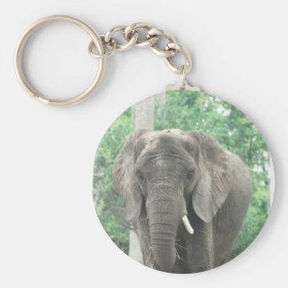 Tusked Elephant  Keychain