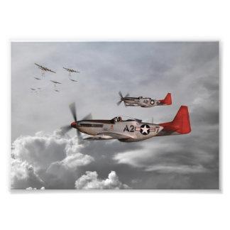 Tuskegee Airmen Art Photo
