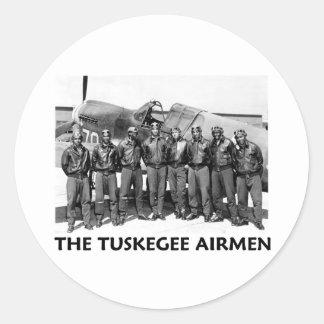 Tuskegee Airmen Round Sticker