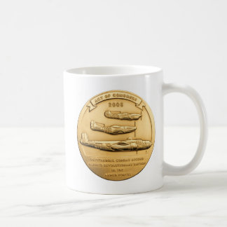 Tuskegee Gold Medal Coin Coffee Mug