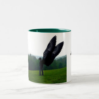 Tussen. Two-Tone Coffee Mug