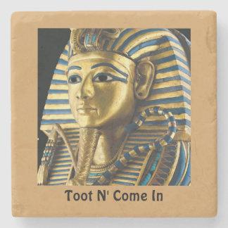Tutankhamen Coaster Stone Coaster