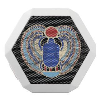 Tutankhamon Hieroglyph White Boombot Rex Bluetooth Speaker