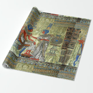 Tutankhamon's Throne Wrapping Paper
