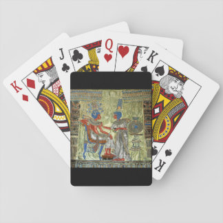 Tutankhamon's Throne Playing Cards