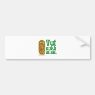 Tutankhamun Bumper Sticker
