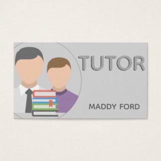 Tutor business business card