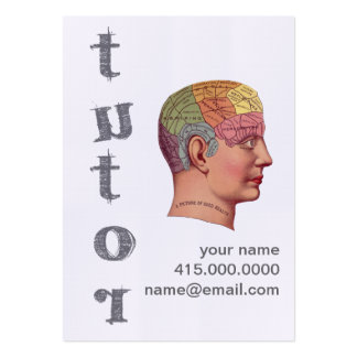 Tutor Pack Of Chubby Business Cards