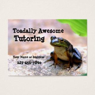 Tutoring Business Card