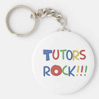 Tutors Rock Keychain