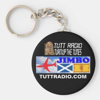 Tutt Radio Jimbo Keychain