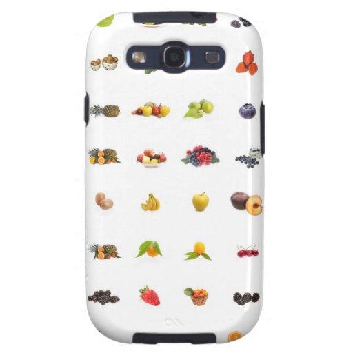 Tutti Frutti Samsung Galaxy S3 Covers