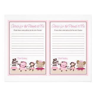 """Tutu Cute Animals """"Advice for Parents"""" sheet 21.5 Cm X 28 Cm Flyer"""