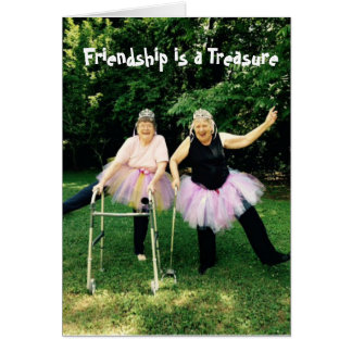 Tutu Friendship Cards for Women