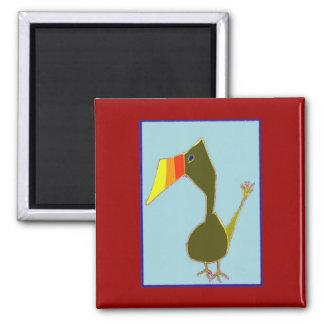 Tutu the Toucan Magnet