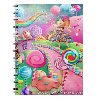 Tutu Yummy Candy Girl Journal