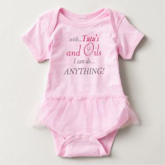 Tutu's and Oils Baby Bodysuit