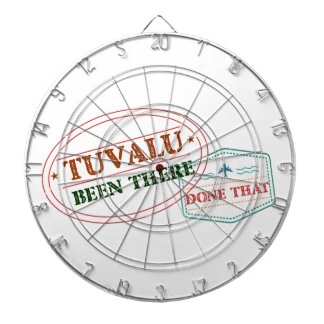 Tuvalu Been There Done That Dartboard