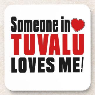 TUVALU Celebrating Years Of Being Awesome Beverage Coasters