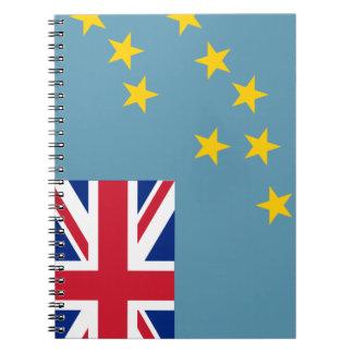 Tuvalu Flag Notebook