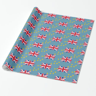 Tuvalu Flag Wrapping Paper