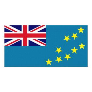 Tuvalu National Flag Photo Card