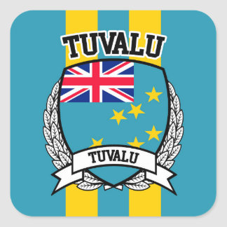 Tuvalu Square Sticker