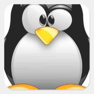 tux-1531289_640 square sticker
