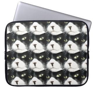 Tux Cat Tablet Case Laptop Sleeve