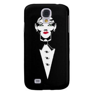 Tux Girl Samsung Galaxy S4 Cases
