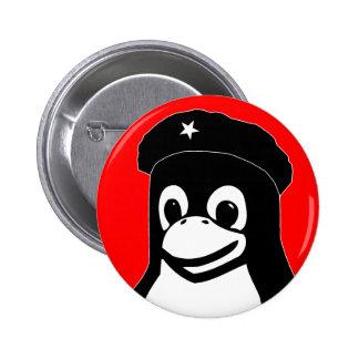 Tux Guevara 6 Cm Round Badge