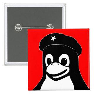 Tux Guevara - Customized 15 Cm Square Badge
